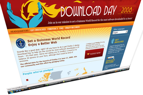 firefox Set a Guinness World Record with Mozilla Firefox