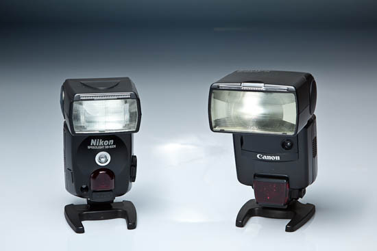 sb 80dx 540ez Nikon Speedlight SB 80DX vs. Canon Speedlite 540EZ